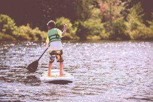 Canoeing Boy