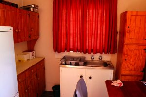 kitchenette view of self-catering unit