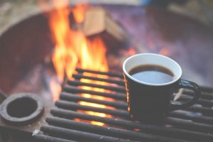 Coffee on the fire